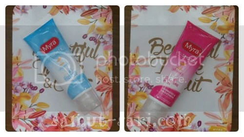 Myra Facial Wash VitaWhite and VitaSmooth
