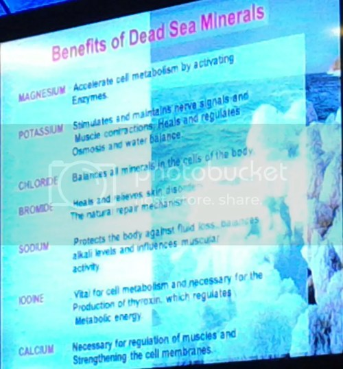 benefits of dead sea minerals