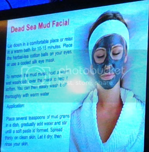 Dead Sea Mud Facial