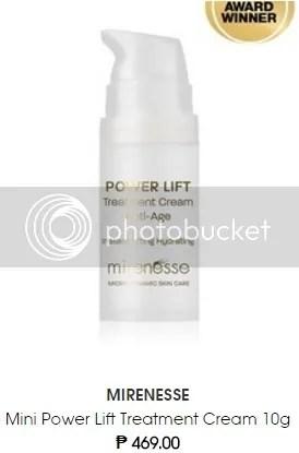 Sephora Philippines Mirenesse Mini Power Lift Treatment Cream