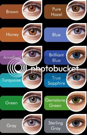 FreshLook Color Blends Color Palette