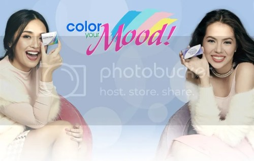 Freshlook & Air Optix Colors Kathryn Bernardo and Julia Montes