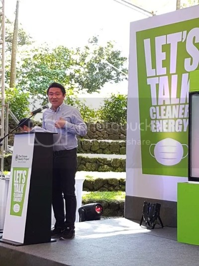 The Climate Reality Project Philippines Let's Talk Cleaner Energy Campaign Mr. Rodne Galicha