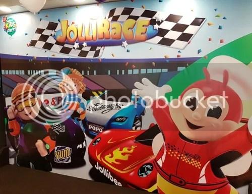 Jollibee: New JolliRace Party Theme