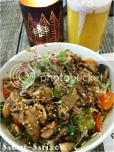Bondi&Bourke Warm Mushroom Salad