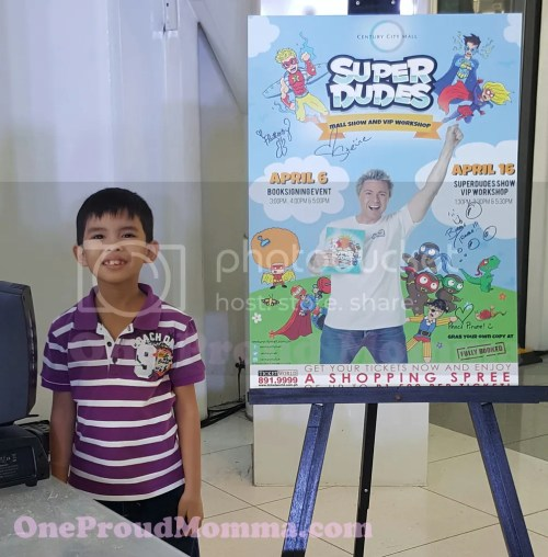 SuperDudes: Super Fun Afternoon at Century City Mall