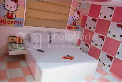 Hotel Sogo Hello Kitty Themed Room