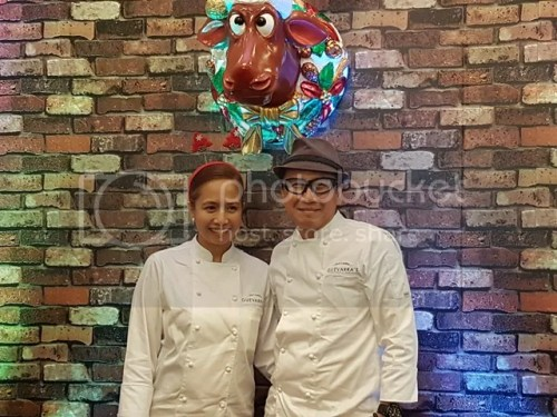 Guevarra's Chefs Roland and Jackie Laudico