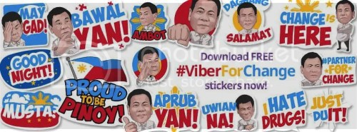 Viber For Change Stickers