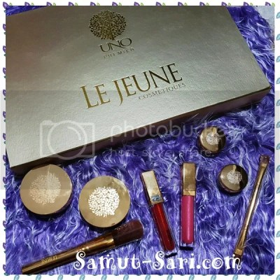 #UNOPremier Le Jeune Cosmetiques with 24K Gold Microparticles