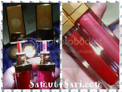 #UNOPremier Le Jeune Cosmetiques Lip Lacquer and Lip and Cheek Tint with 24K Gold Microparticles