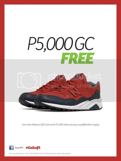 NewBalance Acer Giveaway