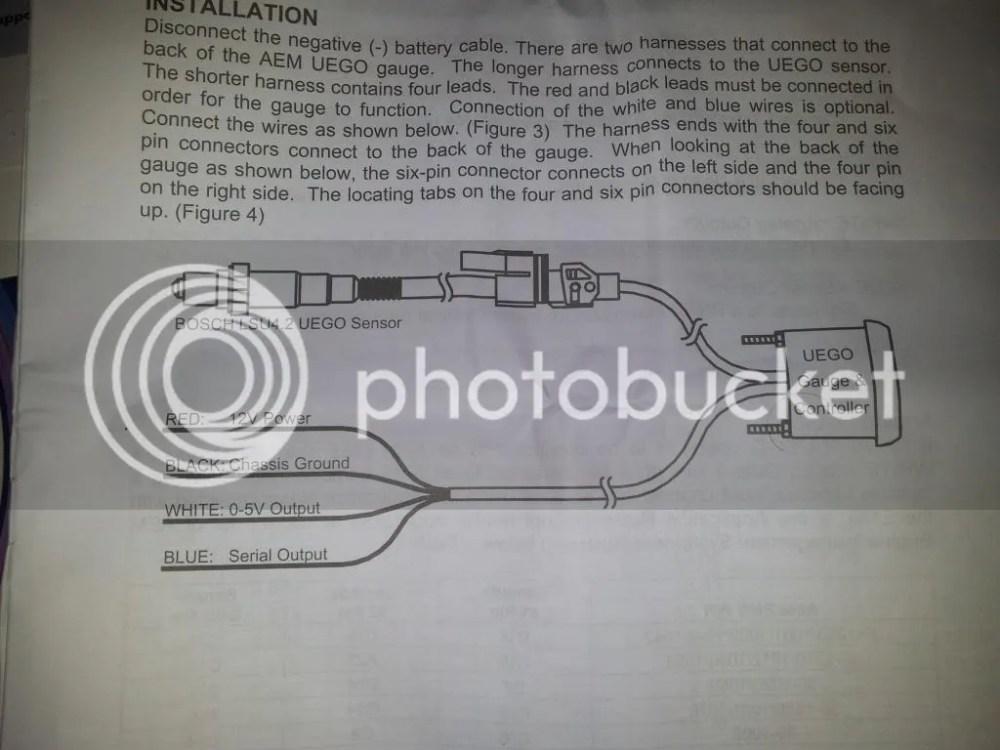 medium resolution of  how to install aem wideband wiring diagram glowshift gauge wiring aem uego gauge wiring diagram