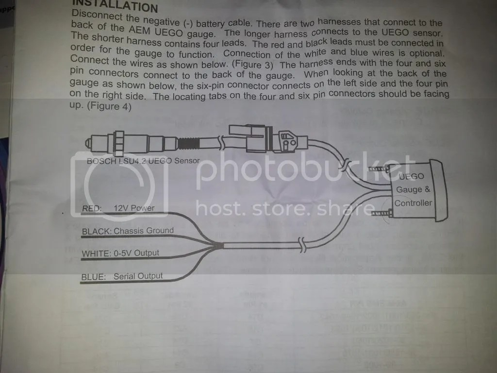hight resolution of  how to install aem wideband wiring diagram glowshift gauge wiring aem uego gauge wiring diagram