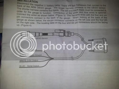 small resolution of  how to install aem wideband wiring diagram glowshift gauge wiring aem uego gauge wiring diagram