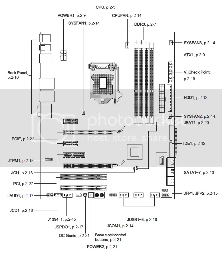msi n1996 motherboard wiring diagram
