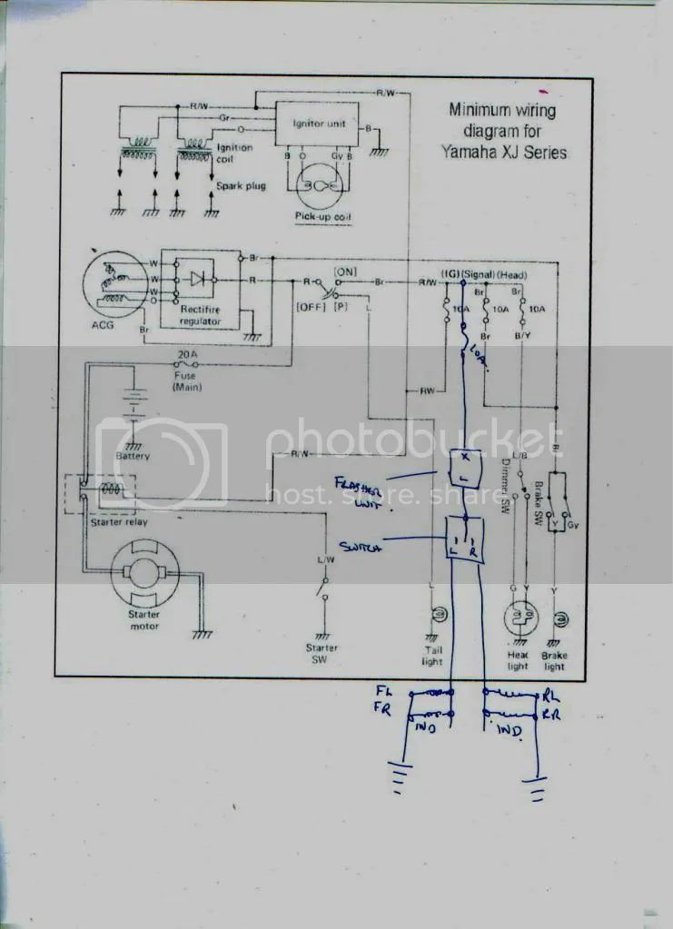 1983 xj550 wiring diagram