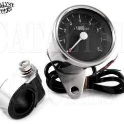 Tachometer Wiring Diagram For Motorcycle Idealarc Welder Chrome All Dual Fire Ignitions