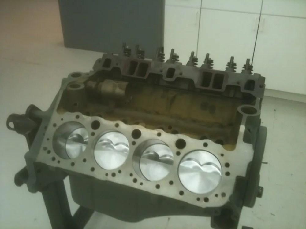 medium resolution of 1961 chevy corvette 283 block 3756519 cylinder heads 3774692