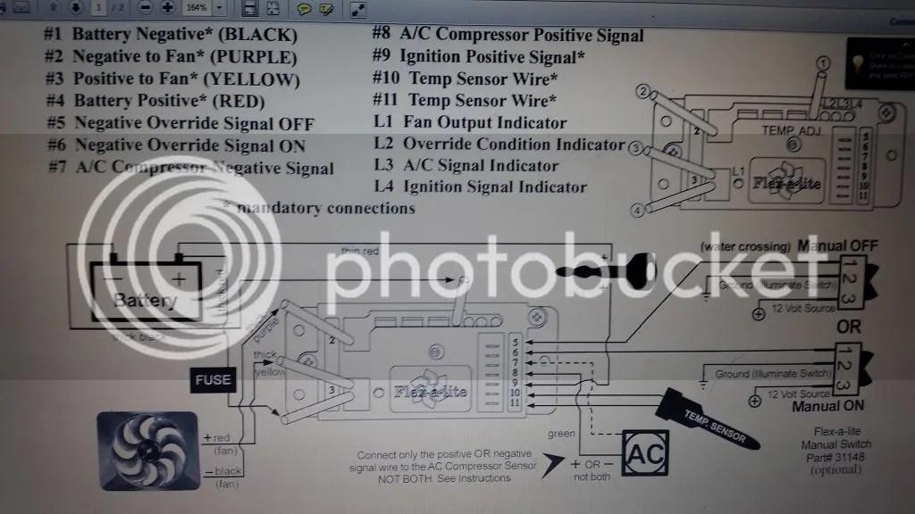 flex a lite wiring diagram downlight my fan clutch delete - bimmerfest bmw forums