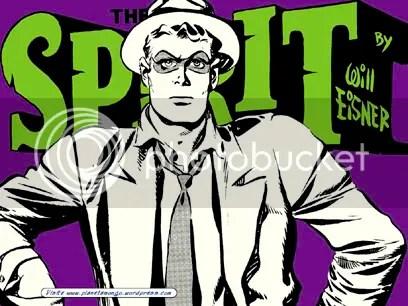 The Spirit, de Will Eisner - Clique aqui para fazer o download deste wallpaper