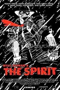 Poster do filme The Spirit - Clique para ampliar em alta resolução