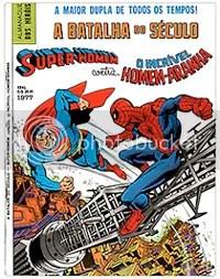 Capa de Super-Homem contra o Homem-Aranha - CLIQUE PARA AMPLIAR