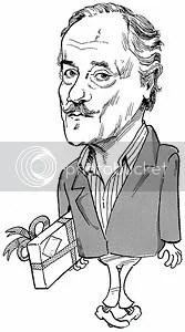 Paulo Autran, por Ucha - Setembro de 1983 - Clique para ampliar