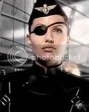 Angelina é a Capitã Franky em Capitão Sky eo o Mundo de Amanhã