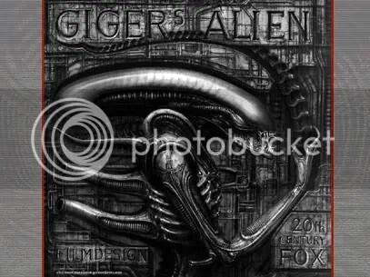 O verdadeiro Alien de Giger - Faça o download deste wallpaper - CLIQUE AQUI