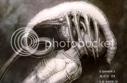 Design de Giger para Alien - O Oitavo Passageiro - CLIQUE PARA AMPLIAR