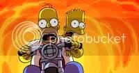 Homer e Bart - Clique para ampliar