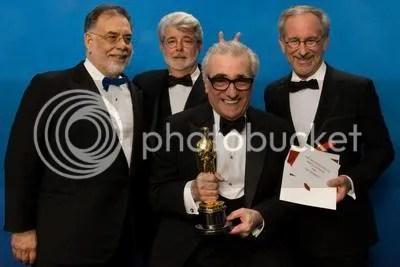 A festa dos diretores no Oscar 2007