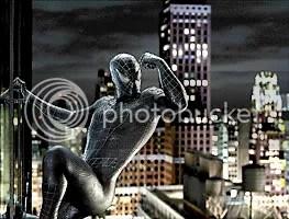 Cena do filme O Homem-Aranha 3