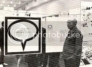 Adolfo Aizen no Congresso de Quadrinhos