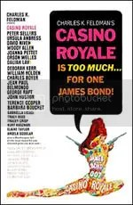 Poster do filme Cassino Royale, do século passado