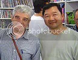 Franco de Rosa e Kendy Sakamoto