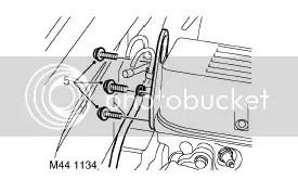 Auto box xyz / gear position switch breather hose