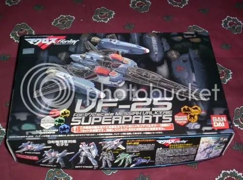 VF-25 Super Parts 1
