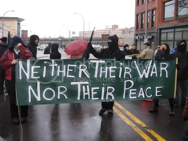 neither their war nor their peace