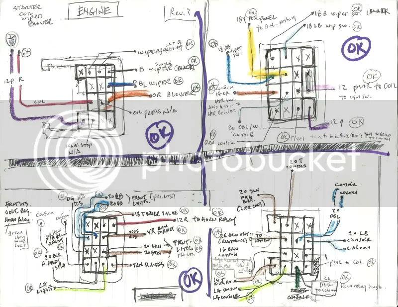 70 chevelle bulkhead wiring harness diagram