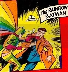 Asa Noturna, mate o Batman Arco-Íris!