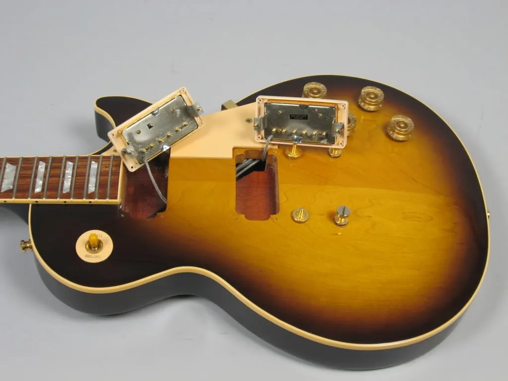 gibson les paul custom semi hollow class diagram for library management system in uml 1996 ordered body ebay