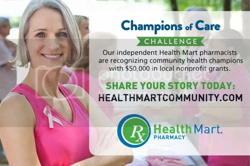 Health Mart's Champions of Care Challenge #HealthMartCares #ad