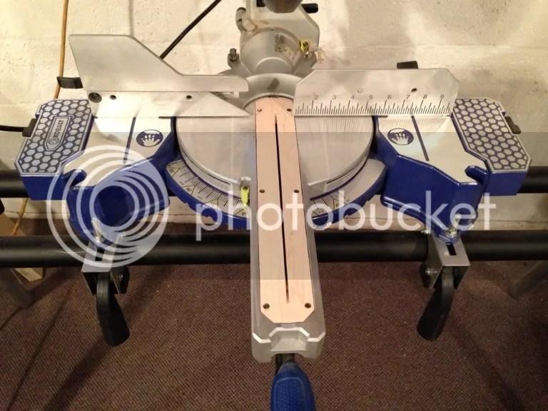 Kobalt 10 Sliding Miter Saw Laser Adjustment