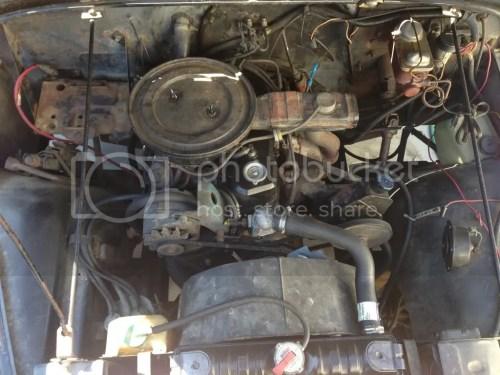 small resolution of here s the engine bay
