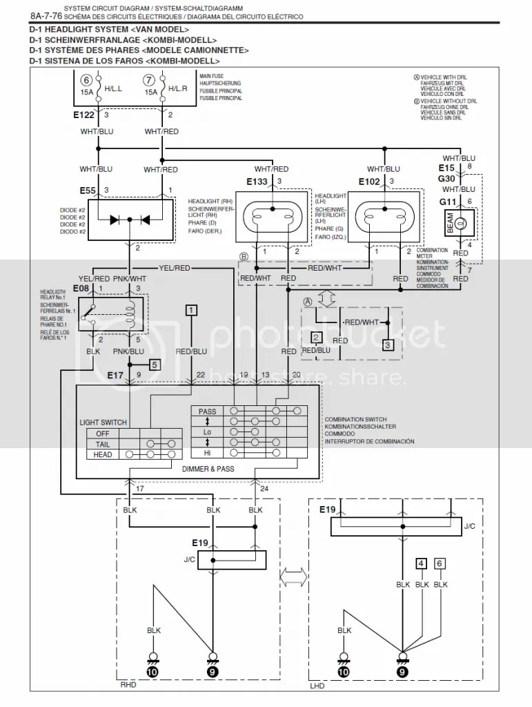 Suzuki Grand Vitara Lighting Diagram, Suzuki, Free Engine
