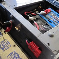 Battery Isolator Wiring Diagram Mitsubishi Triton Radio Fitting Two Batteries In 90 Box - Page 2 Defender Forum Lr4x4 The Land Rover
