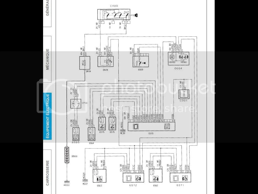 peugeot 206 wiring diagram tooth anatomy bsi 30 images