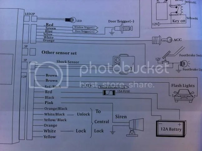 Car Security Alarm Wiring Diagram Car Security Alarm Wiring Diagram